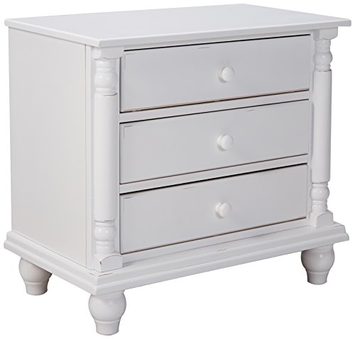 Coaster Home Furnishings Country Nightstand, White (Cottage Style Sofa)