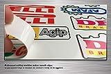 Kungfu Graphics Akrapovic Exhaust Micro Sponsor