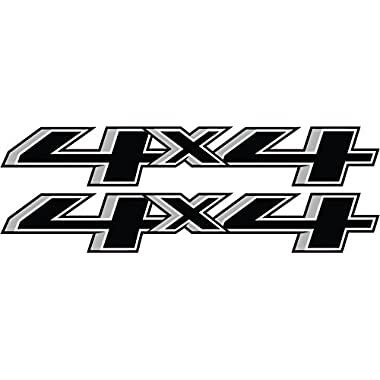 4x4 decals 2014 to 2015 chevy style