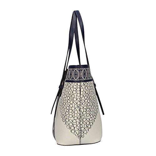estate Calvin Donna Shopping Klein 901 K60k604254 Blu Primavera Bag Jeans xp40Up