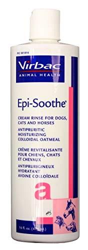 Epi Soothe Conditioner - Virbac 001816 Epi-Soothe Cream Rinse Pet Conditioner, 16 oz