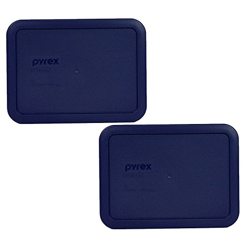 Pyrex 7210-PC 3 Cup Dark Blue Rectangle Plastic