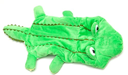 Alligator Dog Costume by Midlee fits 10