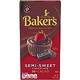 Baker's Premium Semi Sweet Chocolate Baking Bar (4 oz Bar)