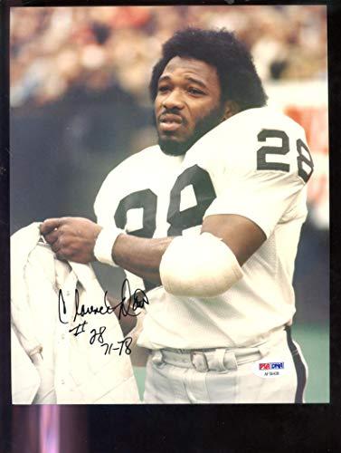 (Clarence Davis Oakland Raiders 8x10 Photo Photograph Picture Signed Autographed Autograph Auto PSA/DNA COA Football NFL)