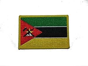 Mozambique país hierro en parche
