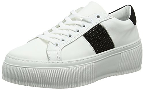 Black Blanco Zapatillas 204 White Mujer Bronx Sahar para zYB6I