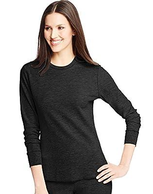 Hanes Womens X-Temp Thermal Crew Shirt