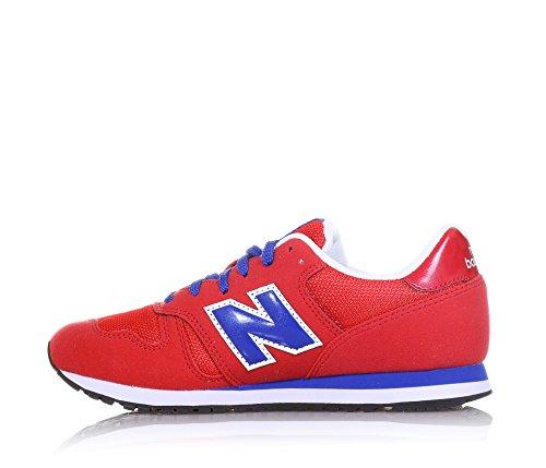 New Balance Unisex-Kinder Kj373rdy M Sneaker, Rosso/Blu Rot
