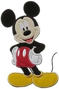 Disney Simplicity Parche bordado (14,2 x 8,3 cm), diseño de Mickey Mouse