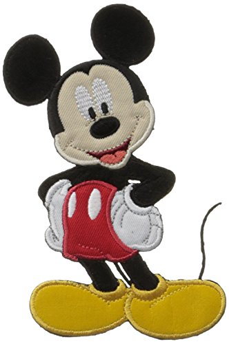 "Disney Sew-On Applique-Mickey Mouse 3-1/4""X5-1/2"" 1/Pack"
