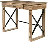 OneSpace 50-JN21DSK Martin Standing Desk with Drawer, Classic Oak