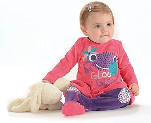 dadc7afd36621 Petit Béguin - Pyjama bébé fille 2 pièces Glouglou Family Girl. Chargement  des images en cours... Retour. Appuyez ...