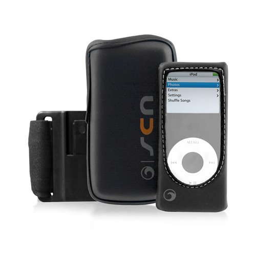 Marware Sportsuit Convertible for 2nd Generation iPod Nano ( Black )