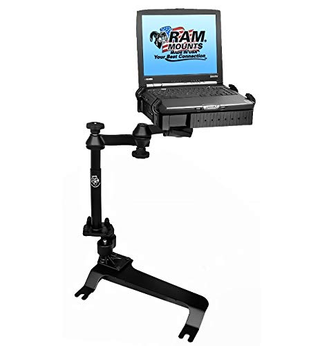 RAM Mounts No-Drill Laptop Mount for the Chevrolet Avalanche, Silverado, Suburban, Tahoe, GMC Sierra, Yukon & Hummer H2 - Cars For Laptop Stands