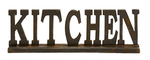 Deco 79 97294 Wood Kitchen Sign, 24 by 8