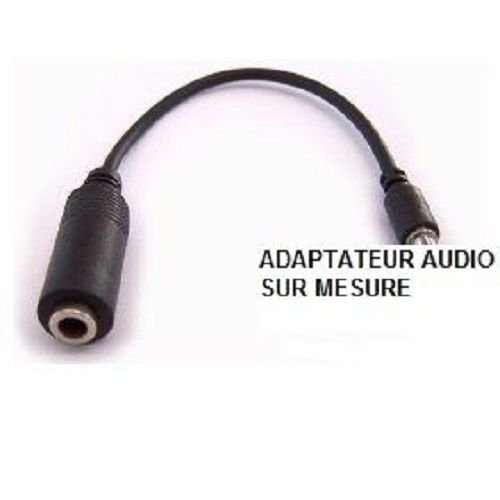 OZZZO ADAPTER CABLE AUDIO JACK 3.5mm FOR ACER liquid M330