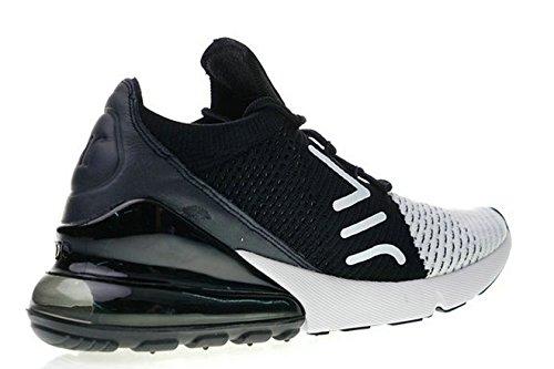 Air Max 270 Flyknit White Black AO1023 100 Chaussures de Running Homme Femme Air Max 270 ed36lP