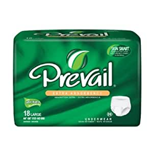 MCK82133101 - Adult Absorbent Underwear Prevail Extra Pull On Large Disposable Moderate Absorbency