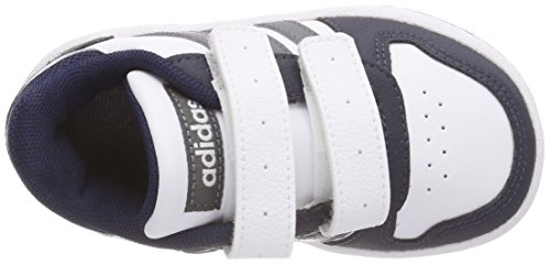 adidas Unisex Baby Vs Hoops 2.0 CMF I Gymnastikschuhe Mehrfarbig (Ftwr White/grey Five F17/collegiate Navy)