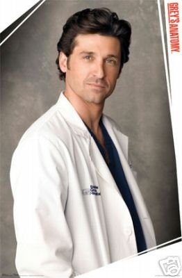 Grey's Anatomy McDreamy TV Poster Print