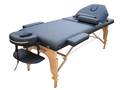 "Professional 77"" Long 34"" Wide 3"" Pad Reiki Portable Massage Table"