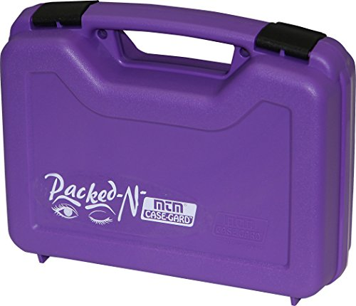 MTM 805-25 Single Pistol Handgun Case, Medium, Purple