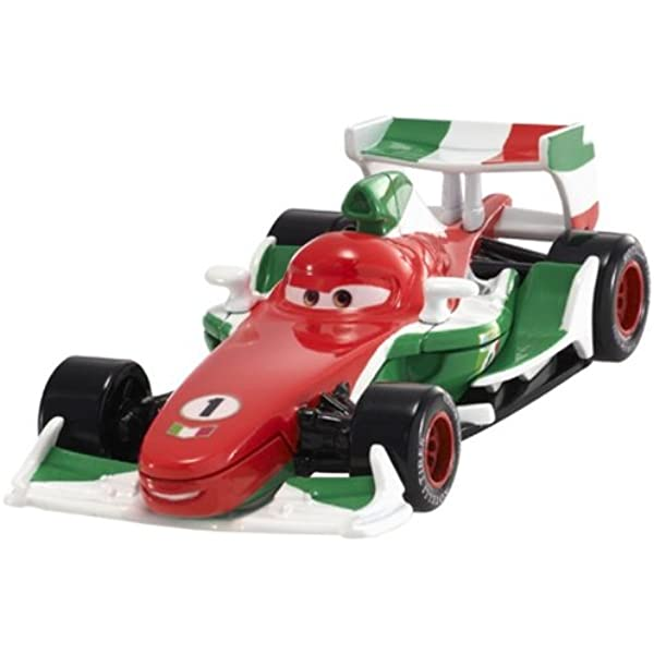 Amazon Com Disney Pixar Cars 2 Francesco Bernoulli 4 Red White