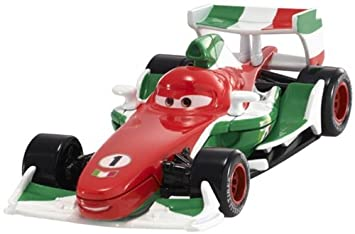 disney pixar cars 2 francesco bernoulli 4 red white green