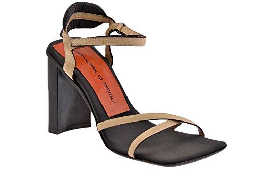 Giancarlo Paoli 0084 Heel 100 Sandals New Ladies. Beige r3C226erc