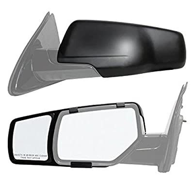 K Source 80920 Snap-On Towing Mirrors for Select Chevy/GMC Models (15+): Automotive