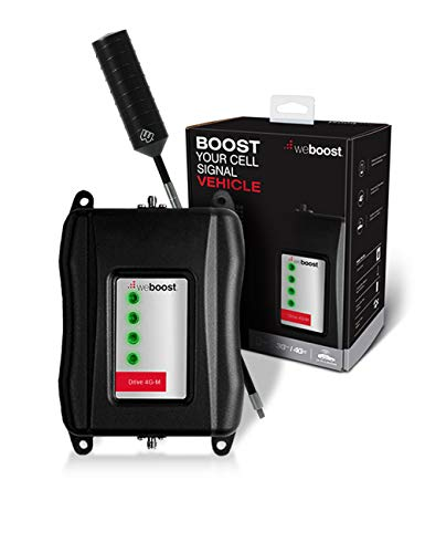 weBoost Drive 4G-M Truck Signal Booster Kit and On The Road Cellular Antenna Truck Edition Bundle | Renewed 470108R
