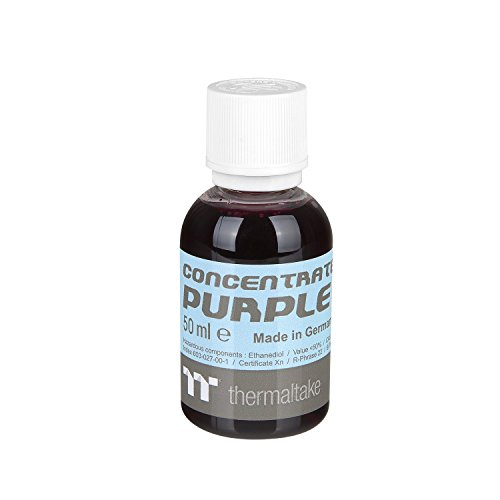Thermaltake TT Premium Transparent Concentrate Dye 50ml Purple CL-W163-OS00PL-A