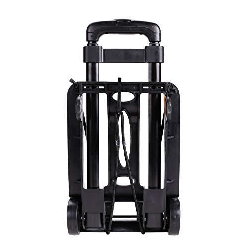 Kaluo Folding Hand Truck 90 Lbs Capacity 4 Wheels Portable Dolly Cart Hand Trolley For Luggage ,Traveling, Shopping, Moving and Office Use by Kaluo (Image #8)