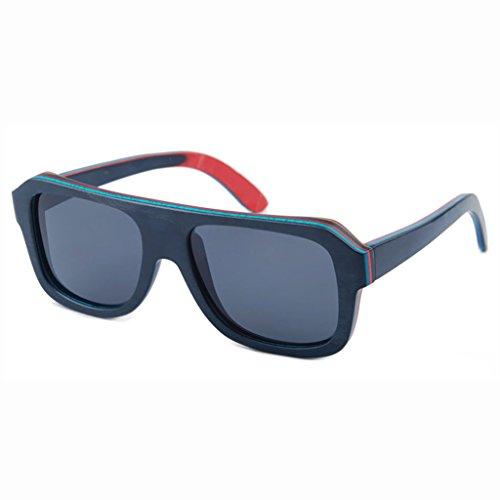 Sol personalización los Hombres al Color TP Moda de la de Duradera Gafas de 6 Aire bambú Gafas de 6 Madera Libre de protección Moda de wvEvX