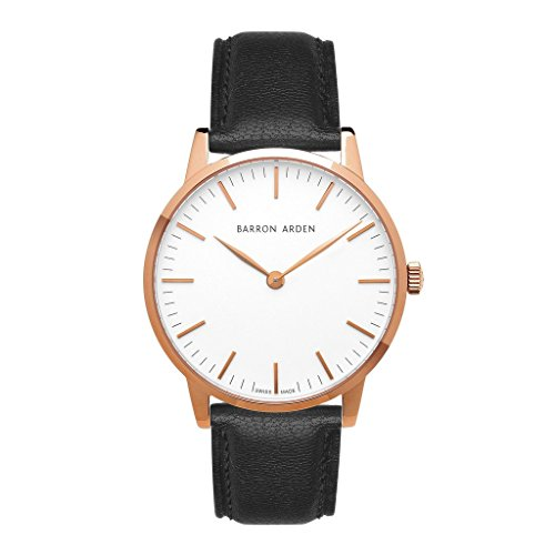 mens white dial luxury watches - 4