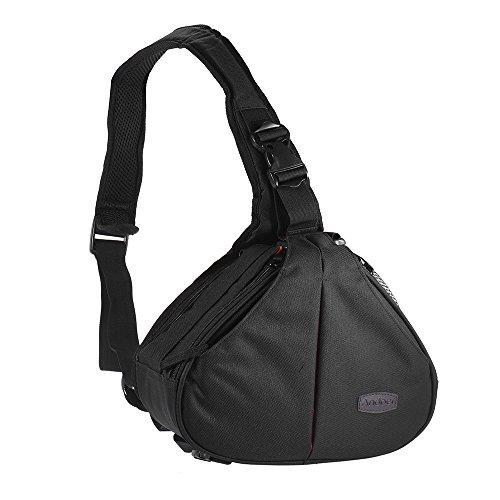 Andoer Waterproof Fashion Casual DSLR Camera Bag Case Messen
