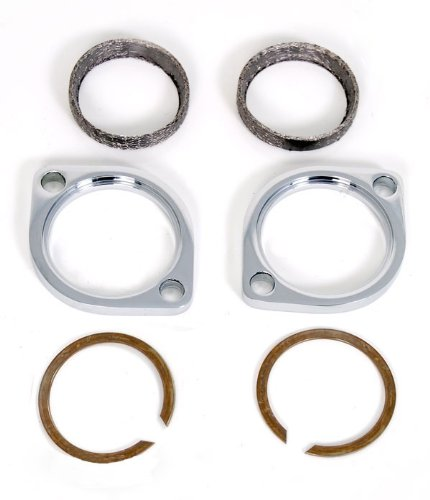 Tapered Exhaust Muffler Flange Kit for Harley Evolution Motors Rings and Gaskets