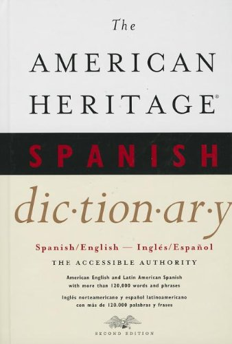 The American Heritage Spanish Dictionary: Spanish/English, Ingles/Espanol thumbnail