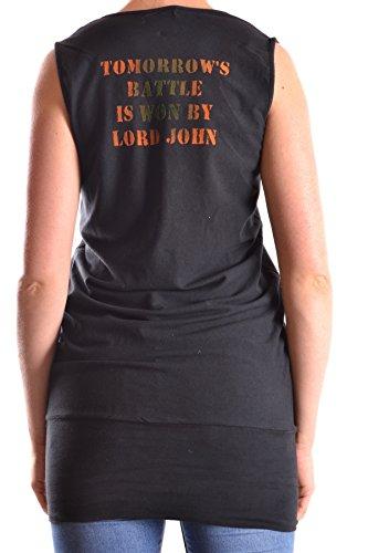 Galliano Tank Top Donna MCBI130074O Cotone Nero