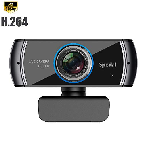 Full HD Webcam 1080P/1536P, Widescreen Video Calling and Recording, Digital Web Camera with Microphone, Stream Cam for PC, Laptops and Desktop 920 (Webcam For Tv)
