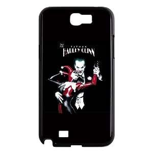 Harley Quinn and The Joker Samsung Galaxy N2 7100 Cell Phone Case Black DIY Present pjz003_6609639