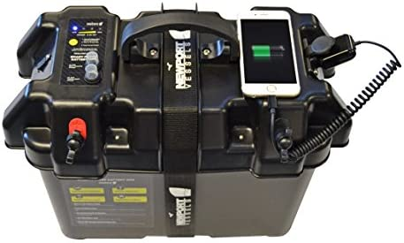 Amazon.com : Newport Vessels Trolling Motor Smart Battery Box Power on