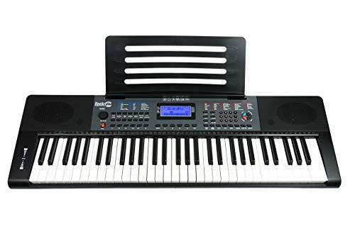 RockJam Portable Keyboard, 61 Key (RJ461)