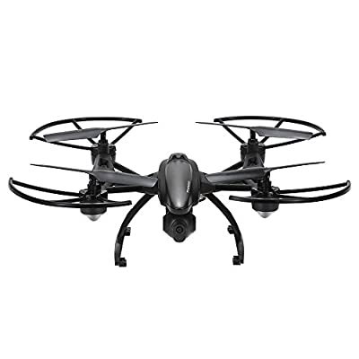 GoolRC 509G FPV Drone with Camera Live Video HD 2MP RC Quadcopter with FPV Monitor Screen on Remote , Altitude Hold & Headless Mode & One Key Return by GoolRC