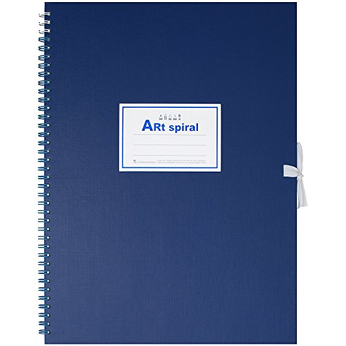 Maruman Art Spiral Sketch Book F4 Blue