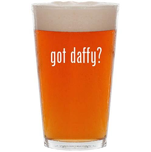 got daffy? - 16oz All Purpose Pint Beer Glass