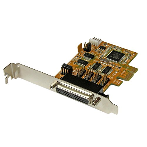 StarTech.com 4-Port PCI Express RS232 Multiport Serial Card with Power Output and ESD Protection PEX4S553S by StarTech (Image #6)