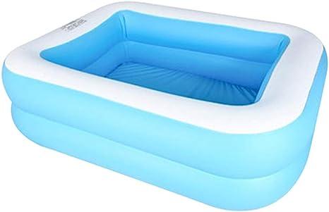 Piscina familiar Mianbo, piscina hinchable resistente al desgaste para jardín al aire libre: Amazon.es: Deportes y aire libre