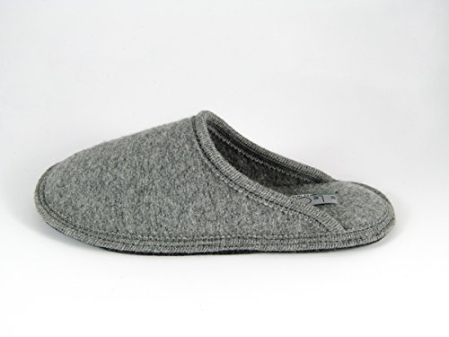 Pantofole da Donna Invernali Tinta Unita Grigio